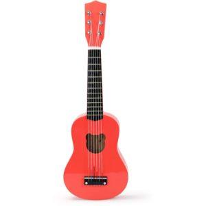 Guitare classique pour enfant en bois crazy orange fluo – Vilac