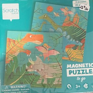 Magnetic Puzzle to Go
